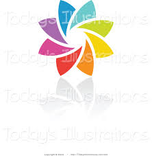 royalty free rainbow icon stock new designs