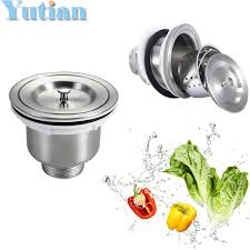 Kitchen Sink Strainers Baskets by Online Buy Wholesale Round Stainless Steel Kitchen Sink From China