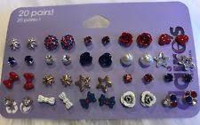 claires earrings s back pierced stud fashion earrings ebay
