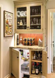 compact dining room hutch ideas with glass door dining interior