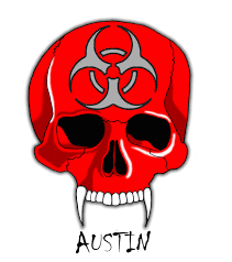 skull with biohazard symbol by heavens harbinger on deviantart