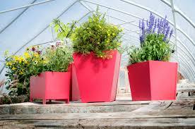 contemporary flower pot for modern patio loll designs patio