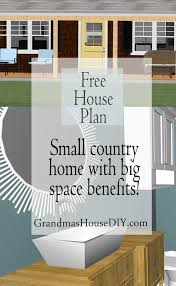 free house plan sweet country home with big style free house
