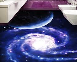 aliexpress com buy 3d floor kitchen custom universe galaxy 3d
