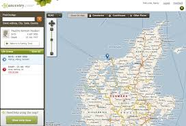 see the people in your tree on a map u2013 ancestry blog