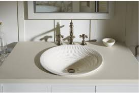 Kohler Faucets Bathroom Sink by Faucet Com K 17890 Rl Rb3 In Bluestone Rutile By Kohler