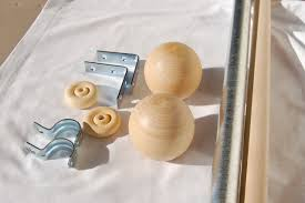 diy curtain rods and finials in special diy curtain rods bamboo