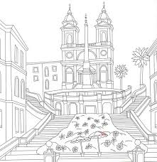 344 architecture coloring pages adults images