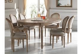 chaises medaillon chaise médaillon en bois massif et assise tissu hellin