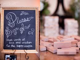 guest sign in books guest book idea guests sign a jenga wedding