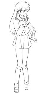 inuyasha the final act coloring pages