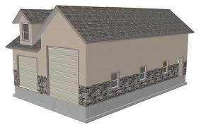 Garage Loft Plans Small Log Cabin Floor Plans Also Rv Garage With Living Quarters