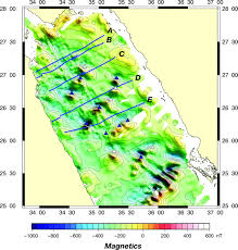 The Red Sea Map Constraints On The Deformation And Rupturing Of Continental