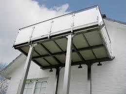 glas balkon bartz metallbau balkon vorstellbalkon aus edelstahl glas und