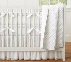 Pottery Barn Linen Curtains Metallic Dot Baby Bedding Pottery Barn Kids