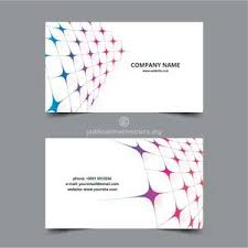 2477 free business card template vector domain vectors