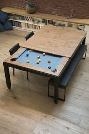 Pool Table Dining Table This Classy Dining Table Hides A Pool Table Underneath Soooo Cool