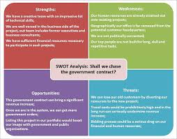 swot analysis template 51 free word excel pdf free