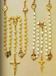 rosaries for sale sale of rosaries rome soprani