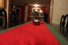 diy christmas table runner the real real housewife