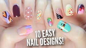 nail art nail art easy easter ideas designs for beginners to do