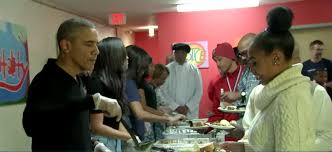family serves thanksgiving dinner to homeless runindc
