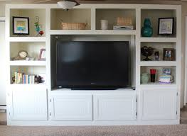 Diy Livingroom by Remodelaholic Living Room Renovation With Diy Entertainment