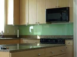 DIY Solid Glass Kitchen Backsplashes To Install Yourself - Glass backsplash pictures