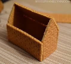 how to make glued graham cracker gingerbread houses quick u0026 easy