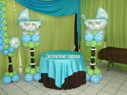 Blue Baby Shower Decorations Amusing Baby Shower Decorations Blue And Green 79 For Your Diy