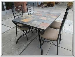 patio dining table set lovable tile top patio table set dining room 7 piece tile top tile