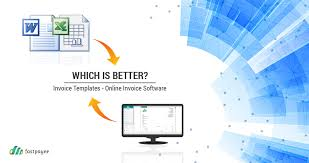 invoice templates or online invoicing software which is better