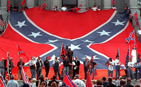 Battle Flags Of The Confederacy Protest Confederate Symbol On Mississippi Flag Al Jazeera America
