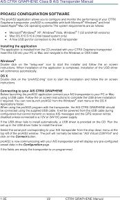 graphene174 marine ais class b transponder user manual true