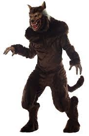 Body Halloween Costumes Adults Deluxe Werewolf Monster Beast Body Costume Horror