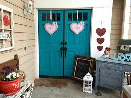 exciting valentine outdoor porch decor expressing afforadable