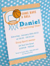 Birthday Invitation Cards Printable Diy Printable Invitation Card Basketball Birthday Party