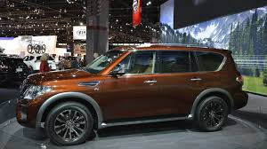 2017 nissan armada spy shots 2017 nissan armada patrols chicago auto show 53 photos