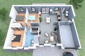 plan maison simple 3 chambres plan datis 3 chambres plans plans de maison garage