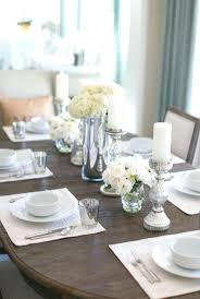 Dining Table Centerpiece Decor by Dining Table Dining Table Ideas 2017 Dining Space Dining Table