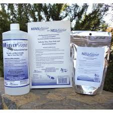 amazon com minnfinn and neufinn biodegradable pond treatment