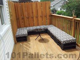 Outdoor Furniture Made From Pallets by Pallet Furniture 101 Pallets Part 18