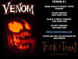 halloween mark the venom site venom 1 halloween variant