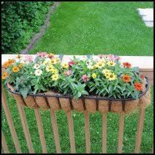front porch railing flower box balcony rail planter boxes 5