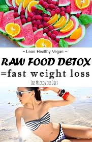 5 ways a raw food detox can boost weight loss the microvore diet