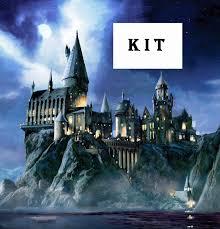 harry potter magic hogwarts castle cross stitch kit by