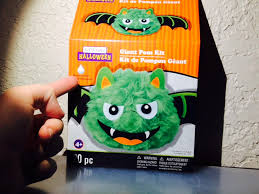 facebook spirit halloween giant pom kit bat r i p reviews youtube