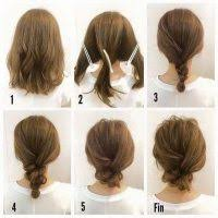 model sanggul rambut pendek 20 cara menata rambut pendek sebahu untuk anak perempuan