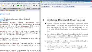 sizes options week 4 tutorial lecture 002 document class options