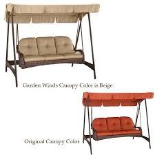 Azalea Ridge Patio Furniture Replacement Cushions Garden Winds Replacement Canopy Top For Azalea Ridge 3 Person